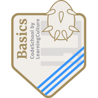 LearningCulture CodeSchool Badge B11