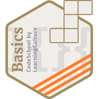 LearningCulture CodeSchool Badge B15