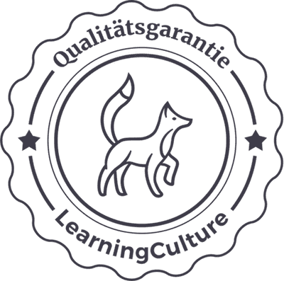 LearningCulture Qualitätsgarantie Siegel